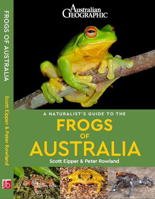 A Naturalist's Guide to the Frogs of Australia front cover