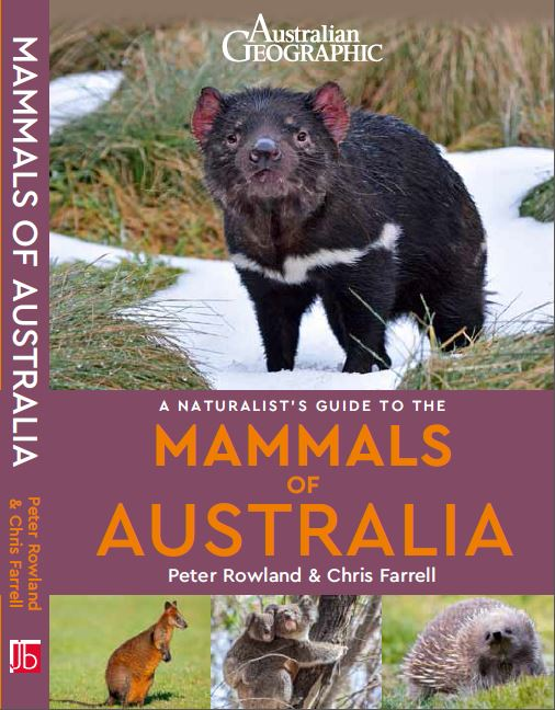 A Naturalist's Guide to the Mammals of Australia front cover