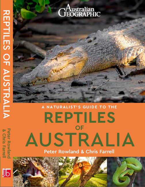 A Naturalist's Guide to the Reptiles of Australia front cover