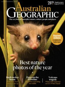 Cover of Issue 158 of the Australian Geographic Magazine