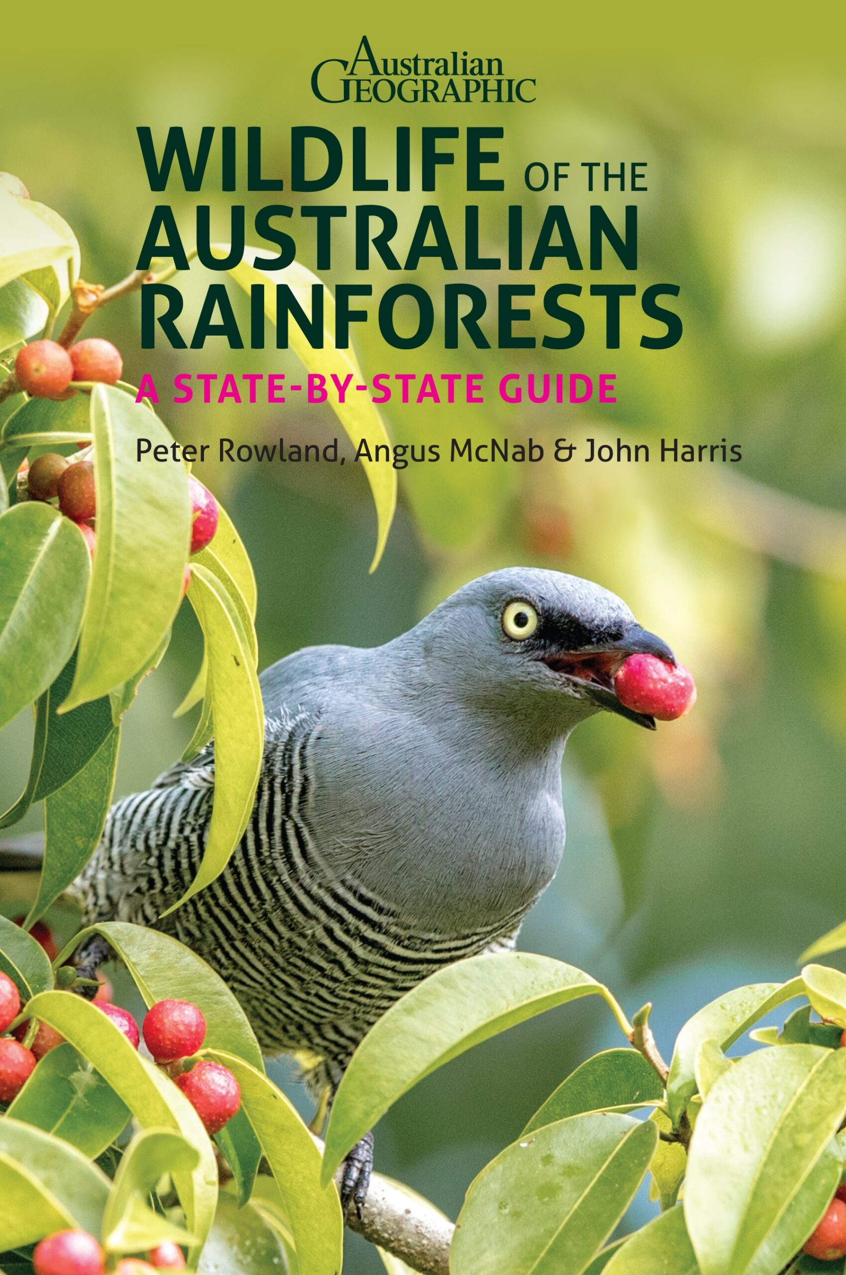 Cover of the Wildlife of the Australian Rainforest Book