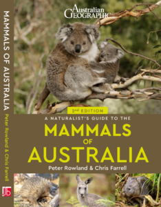 Cover of a Naturalist's Guide to the Mammals of Australia 2nd Edition with a Koala on the cover