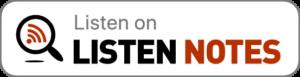 Listen Notes Badge