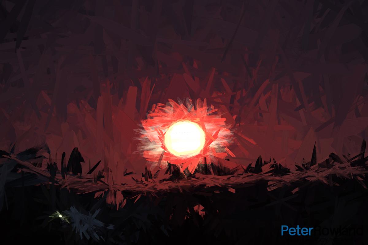 Sunset artwork